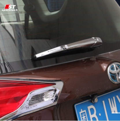 Хромированная накладка на задний дворник Toyota Rav-4 (2013-2016)