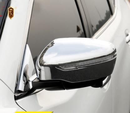 Хромированные накладки на зеркала заднего вида Nissan X-Trail (2014-2017)
